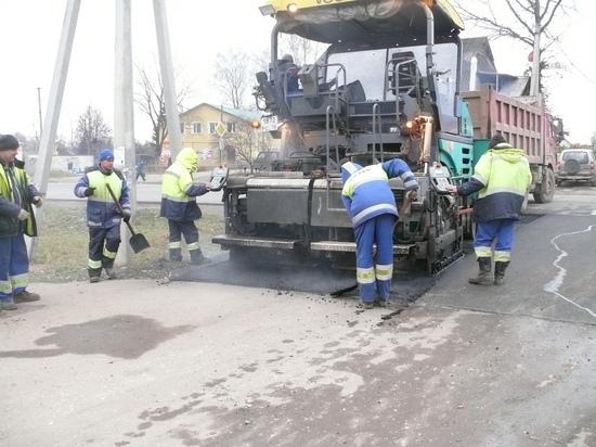 Дорогу Порхов - Успенье отремонтируют до 18 декабря