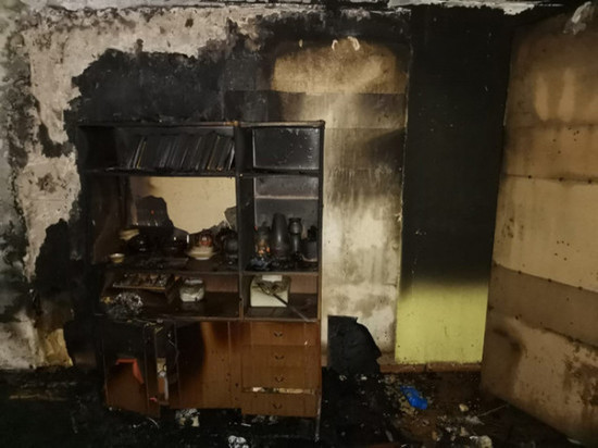 Мурманчанин погиб во время пожара в квартире