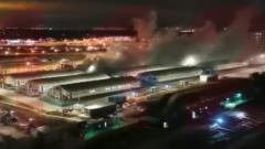 Опубликовано видео взрыва в больнице Коммунарки