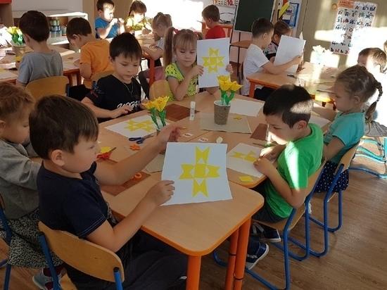 К празднованию Дня чувашской вышивки активно подключились детские сады Красночетайского района