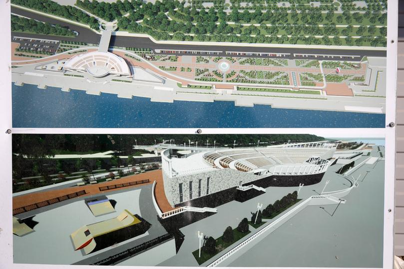 Амфитеатр на 2300 мест сооружают в Волгограде на набережной, фото-2