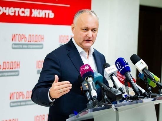 В чем «виноват» Игорь Додон?