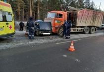На Урале после столкновения с КАМАЗом погиб водитель ВАЗ-2106