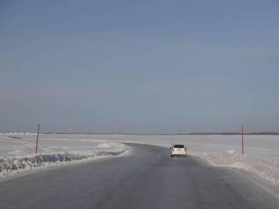 Минтранс Якутии уточнил сроки открытия ледовых переправ близи Якутска