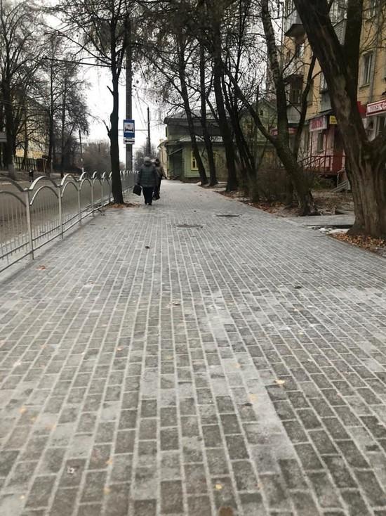 Прокуратура выявила нарушения при обработке тротуаров в Калуге