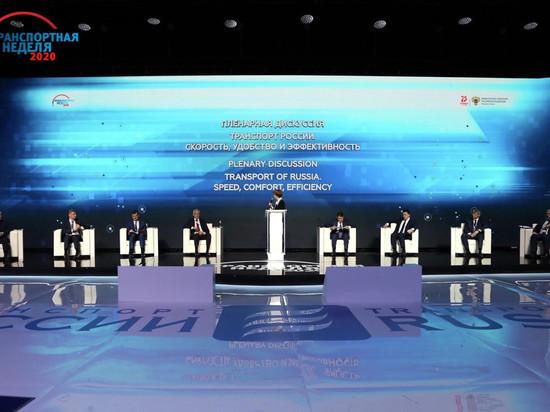 Айсен Николаев и руководство правительства РС (Я) работают на «Транспортной неделе» в Москве