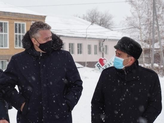 Глава Ставрополья проверил ход реализации проектов в Арзгирском районе