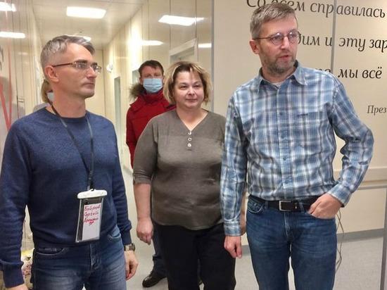 Три медика из Пскова приехали настраивать ковид-работу в Великие Луки