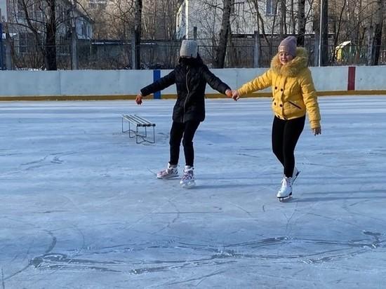 В Кирове стартовал сезон уличных катков