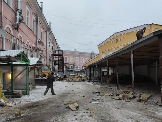 Замгубернатора призвал архитекторов помочь с проектом Мытного рынка