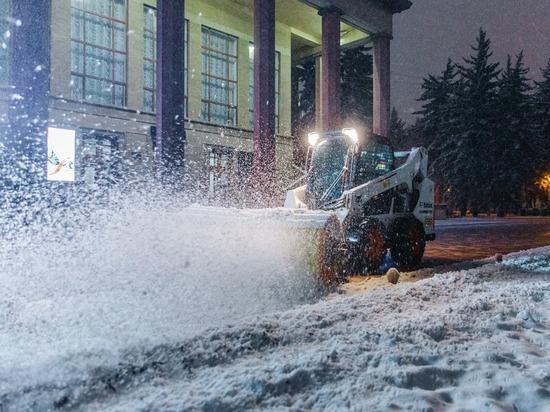 В Ставрополе убрали снег на 160 км дорог