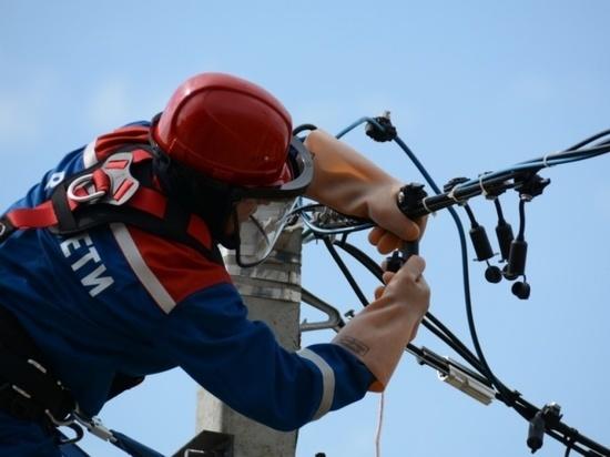 В Калужской области происходят новые порывы на электросетях