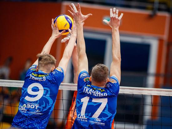 """Волейболисты """"Кузбасса-2"""" одержали вторую победу в домашнем туре Молодёжной лиги"""