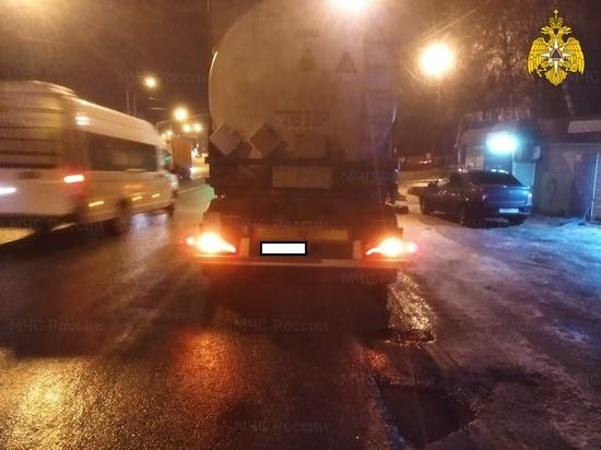 Фура сбила пешехода в Боровском районе