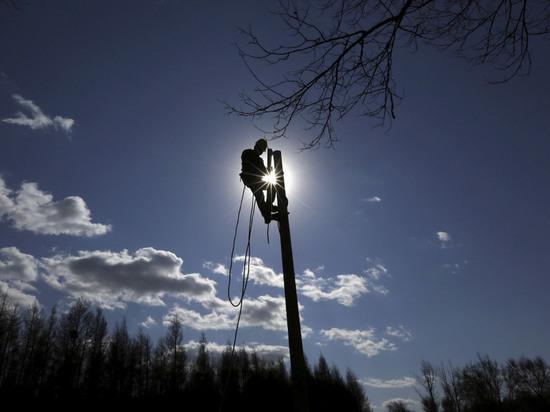 Электроснабжение восстановлено во всех районах Калужской области