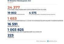На Ямале коронавирус за сутки подтвердили у 197 человек
