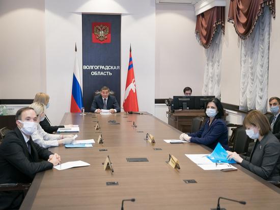 Бочаров обсудил перспективы сотрудничества с главой казахстанского региона