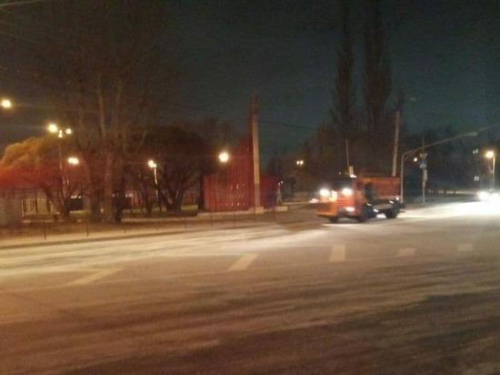 На Калужский регион надвигается снег с дождем
