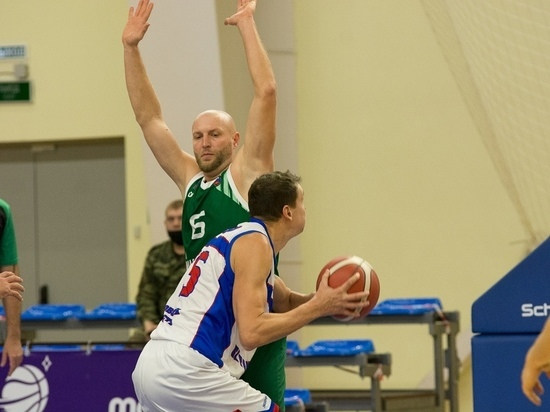 Баскетболисты «Тамбова» одержали очередную домашнюю победу