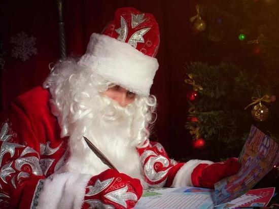 В Калуге начали возводить резиденцию Деда Мороза
