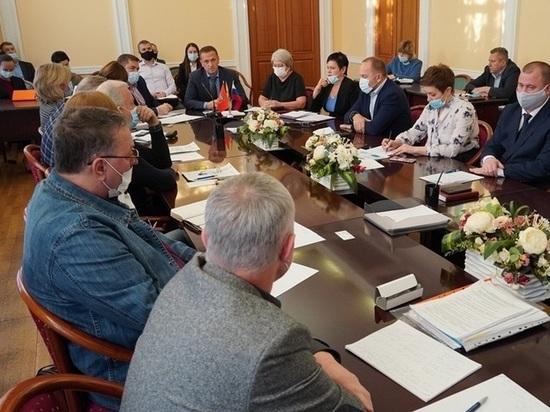 Ольга Березнева приняла участие во встрече с президиумом Общественной палаты города