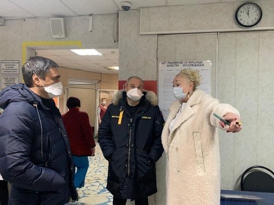 Греков проверил поликлинику № 2 и БСМП в Рязани