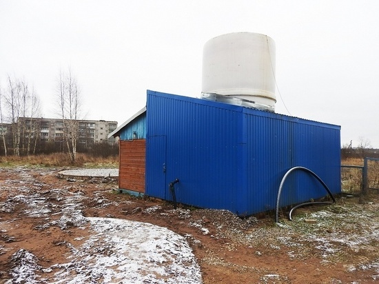Новая скважина в Тверской области поставляет в город свежую воду