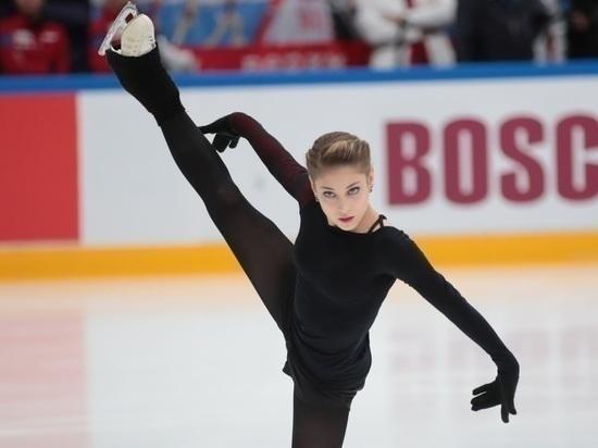 Косторная выиграла короткую программу на Гран-при России, Трусова - 3-я