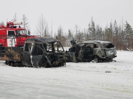 На Ямале в страшной аварии 1 человек погиб и 4 пострадали
