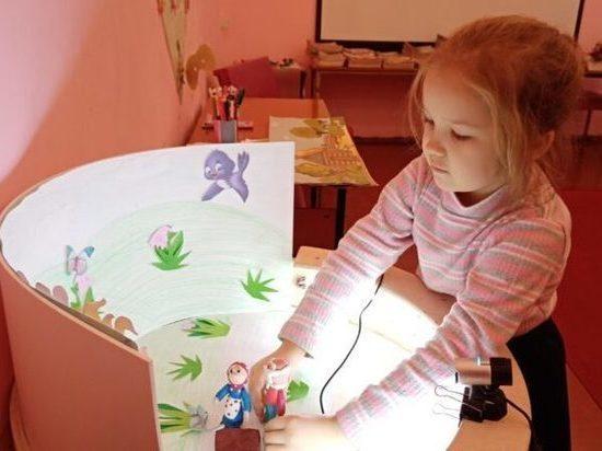 В районной библиотеке в Макарьеве Костромской области появилась детская мульт-студия