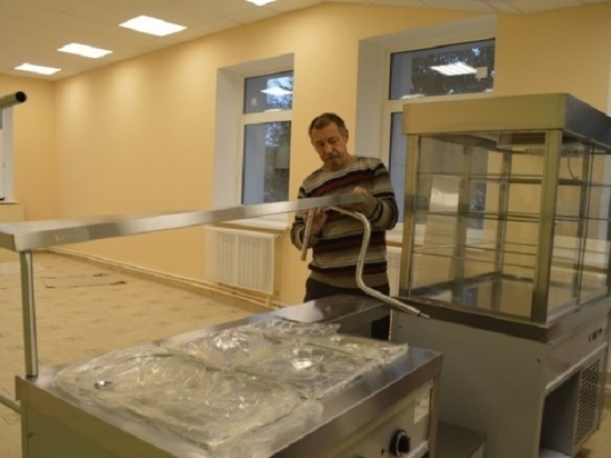 В Васильевской школе в Серпухове отремонтировали пищеблок