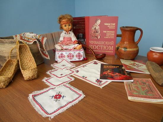 Секреты чувашской вышивки открывают в Детской библиотеке