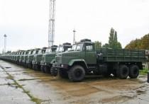 Армия отказалсь от своих КрАЗов в пользу чешских Tatra