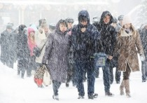 """В воскресенье, 22 ноября, в столичный регион придет циклон """"Сара"""""""