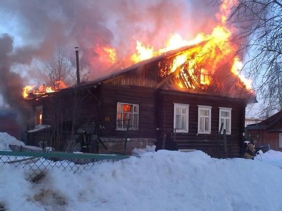 Два пожара унесли жизни мужчины и женщины