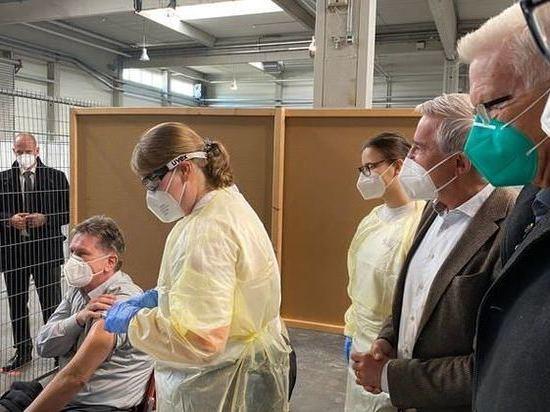 В Германии успешно прошел тестовый запуск центра вакцинации от Covid-19