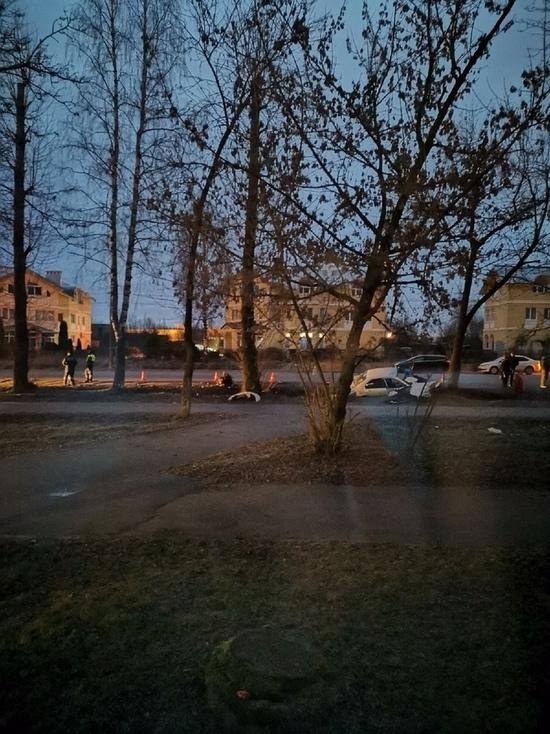 Опубликовано фото смертельного ДТП в Тверской области, где иномарка протаранила дерево