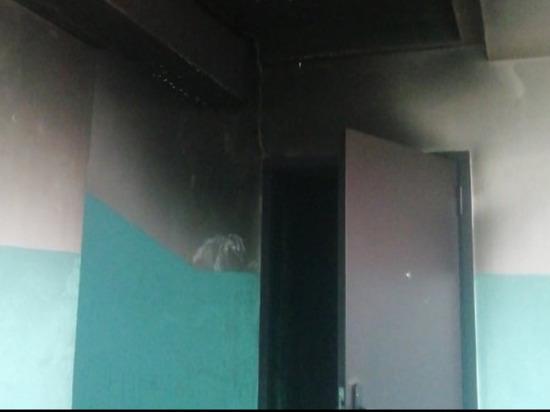 В Ижевске возник пожар в многоквартирном жилом доме