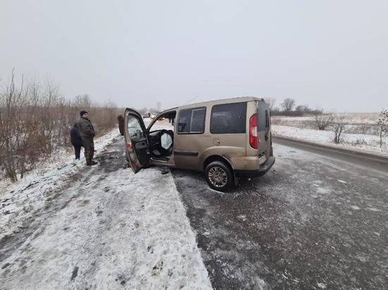 На трассе в Ростовской области 38-летний мужчина погиб в лобовом ДТП