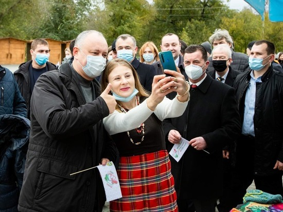 Додон: Вместе мы сможем сделать Республику Молдова процветающей