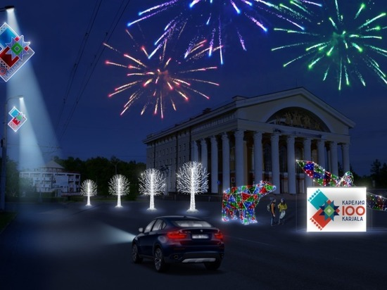 Новогодняя сказка:  в администрации рассказали, как украсят Петрозаводск