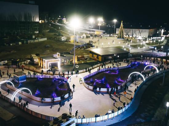 В Волгограде 27 ноября откроют каток в пойме Царицы