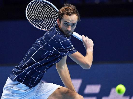 Российский теннисист вышел в финал Итогового турнира ATP в Лондоне
