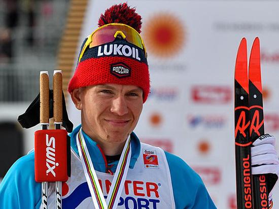 Большунов выиграл контрольную гонку сборной России