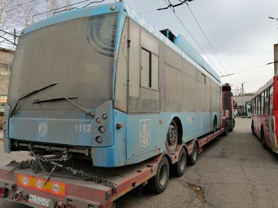 «Собянинские» троллейбусы прибудут в Читу до 20 декабря