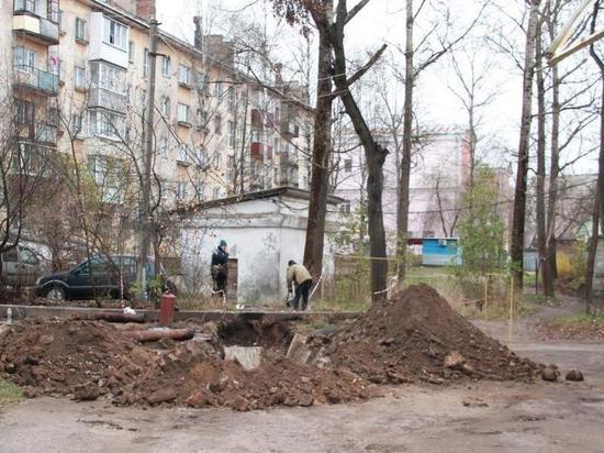Прорыв на трубопроводе устранили в Тверской области
