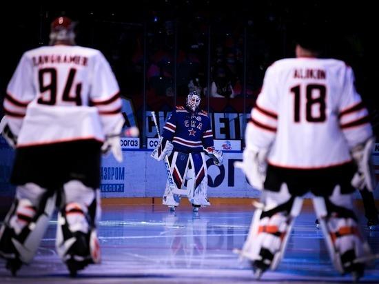 СКА обыграл «Амур» в регулярном чемпионате КХЛ