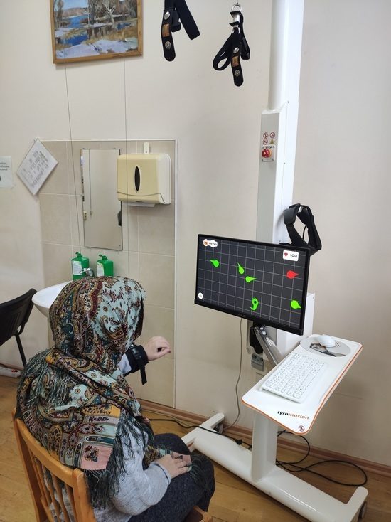 В Госпитале для ветеранов войн реабилитируют людей после тяжелых болезней