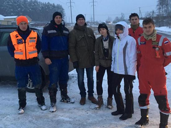 Молодых людей, которые перестали выходить на связь, спасателям удалось обнаружить спустя сутки