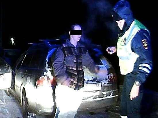 41-летняя пьяная автоледи гонялась с полицией в Ангарске